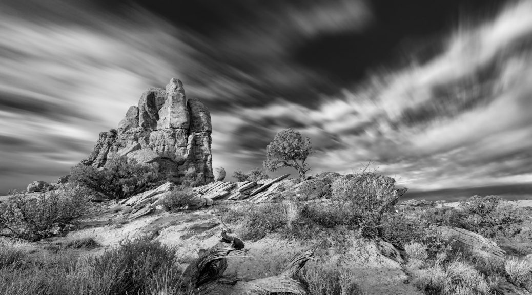 Arches National Park long exposure
