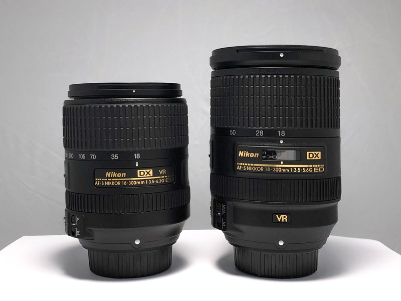 Nikon 18-300mm lenses