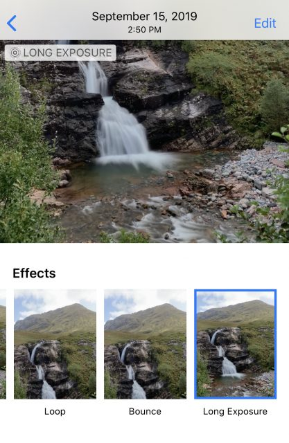 how to create a long exposure image with your iPhone