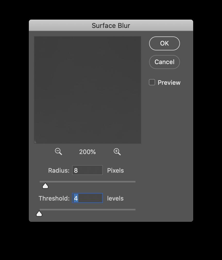 Surface Blur Filter
